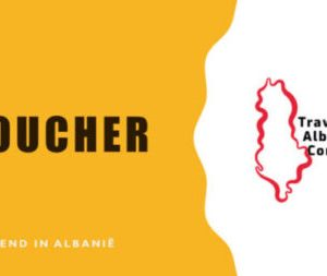 VOUCHER waardebon travelling albania
