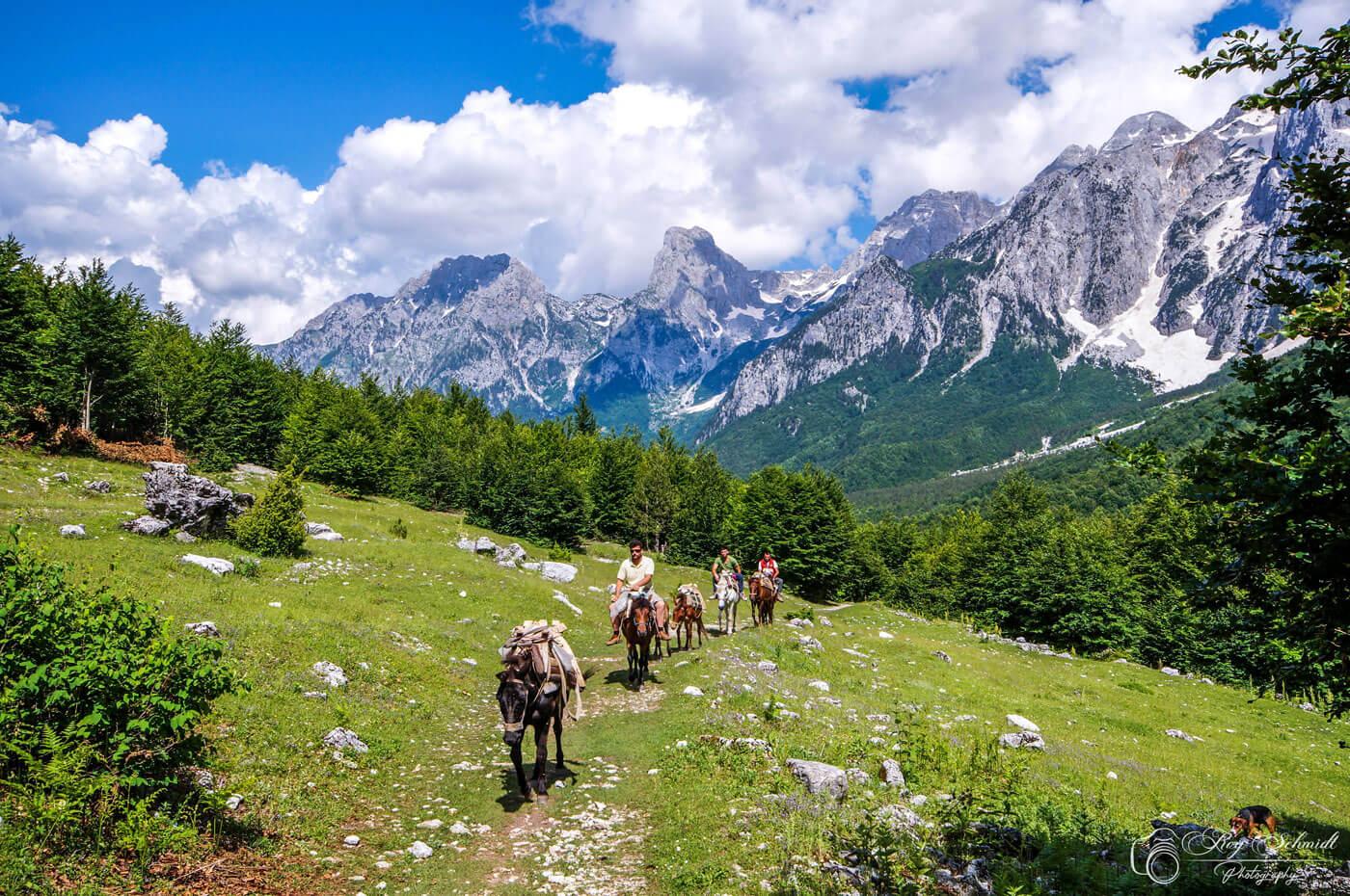 Bergen-Valbona-pass-Albanie