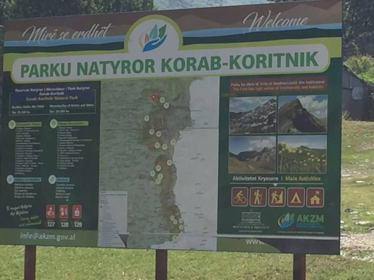 Bord Nationaal-Park-Korab