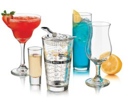 Cocktail Glasses 18 piece Gift Set