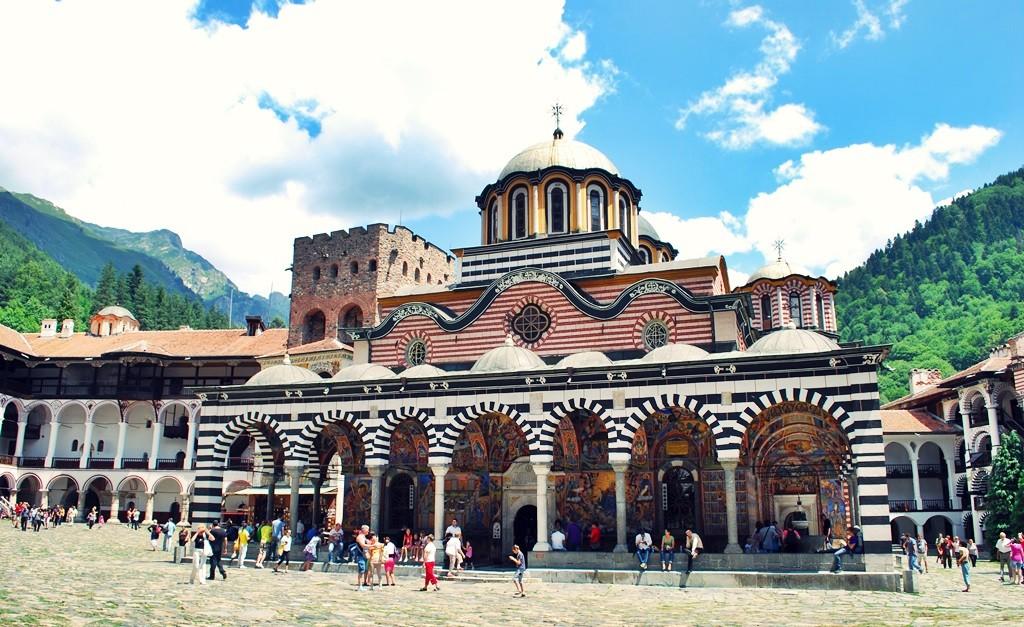 Rila Monastery bulgaria