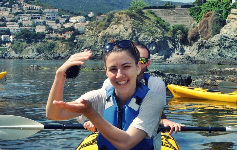 Kayaking in Llanca