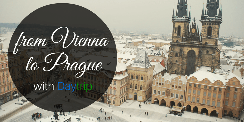 from Vienna to Prague with daytrip