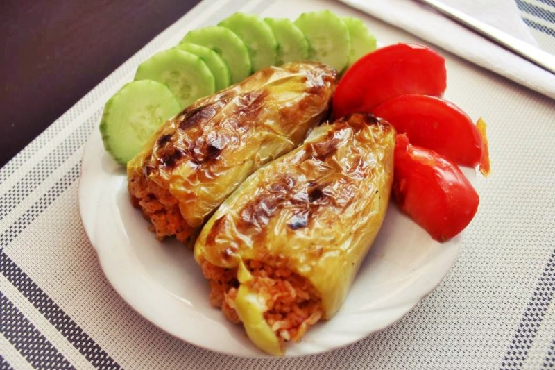 stuffed peppers bulgaria