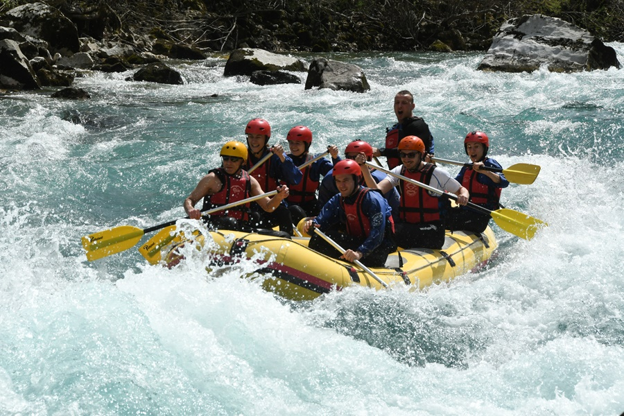 rafting on tara drina