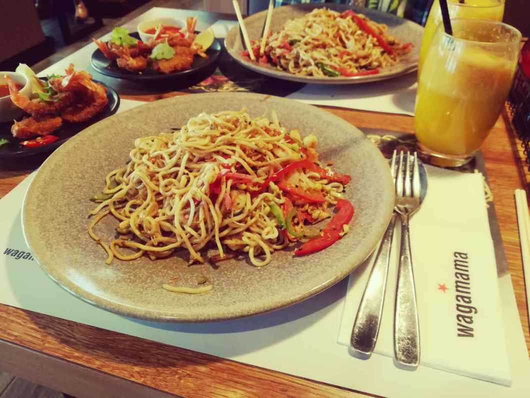 Lunch at Wagamama during Sofia Restaurant Week in May