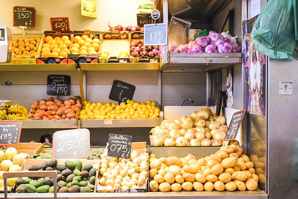 Atarazanas market in Malaga