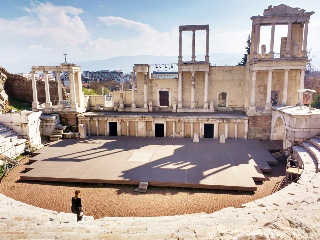 ancient theater plovdiv - what to see and do in plovdiv bulgaria