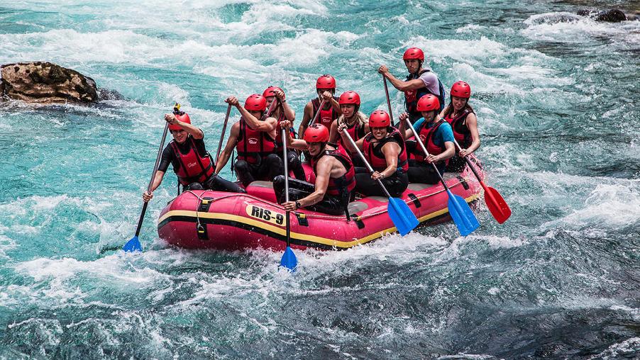 rafting on tara, bosnia and herzegovina