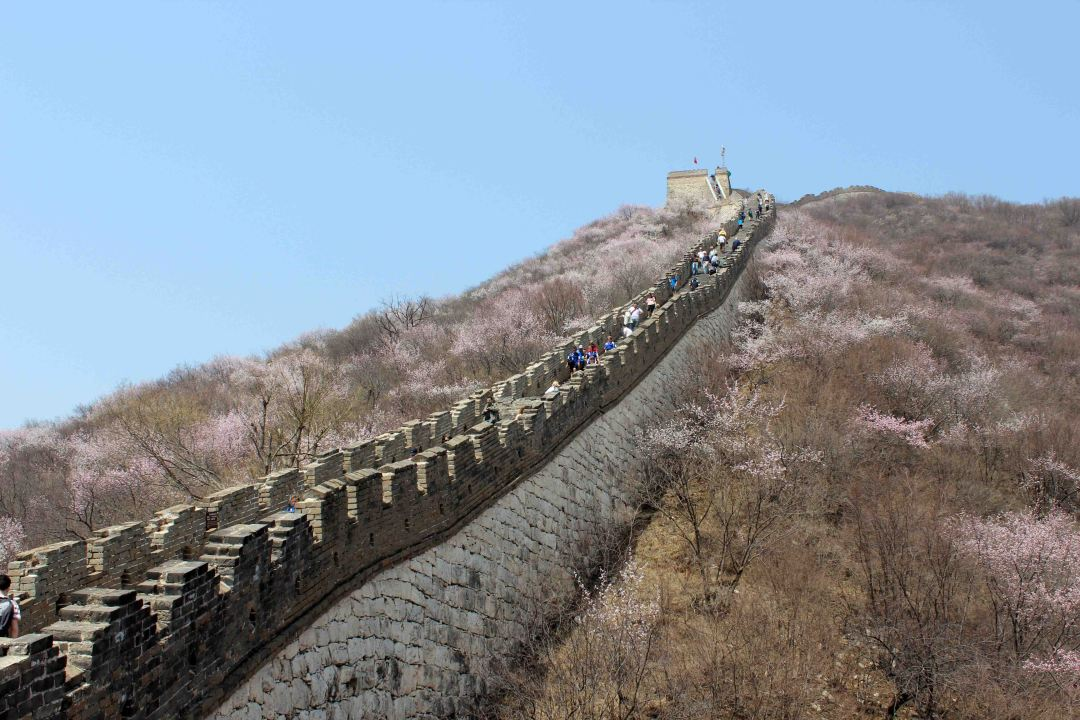 The part between Tower 20 and Tower 22 is the steepest part of Mutianyu