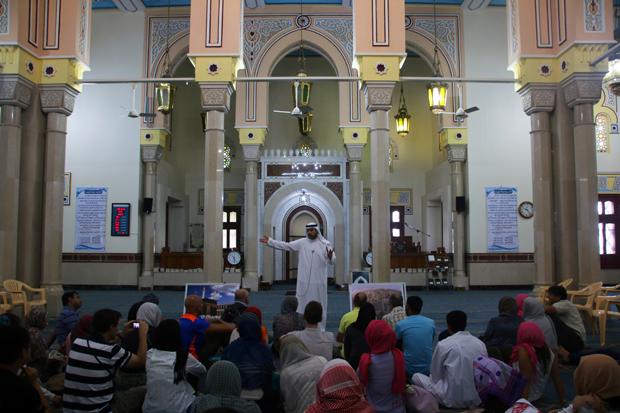 guided tour Jumeirah Mosque Nassif
