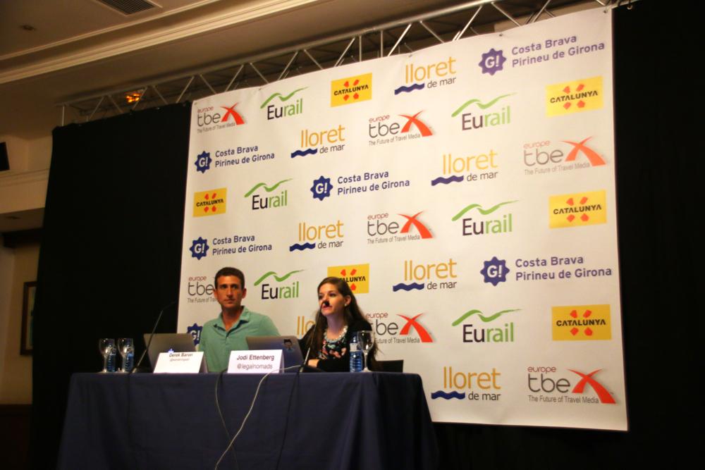 TBEX Europe 2015 Lloret de Mar Costa Brava Spanien