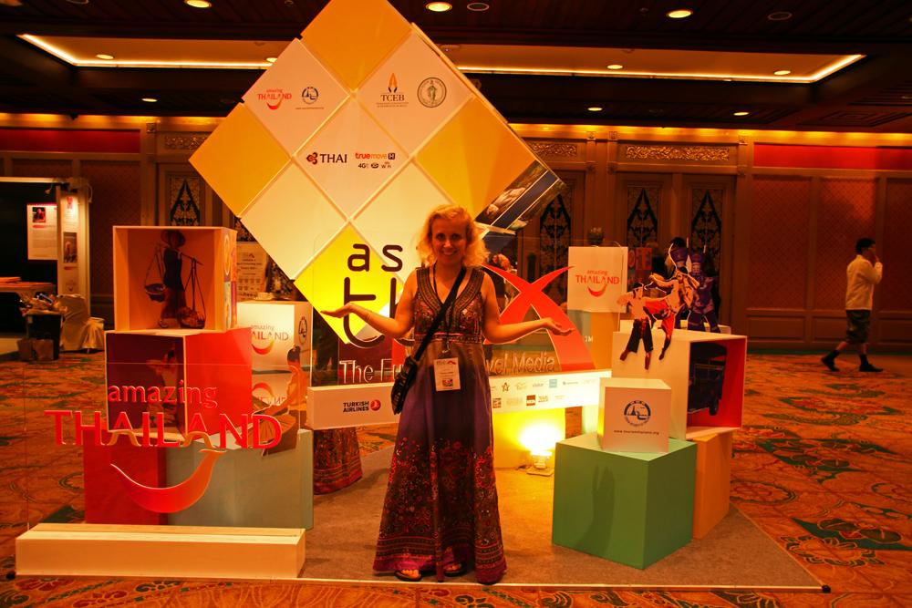 TBEX Asia 2015 im Königin-Sirikit-Kongresszentrum in Bangkok, Thailand