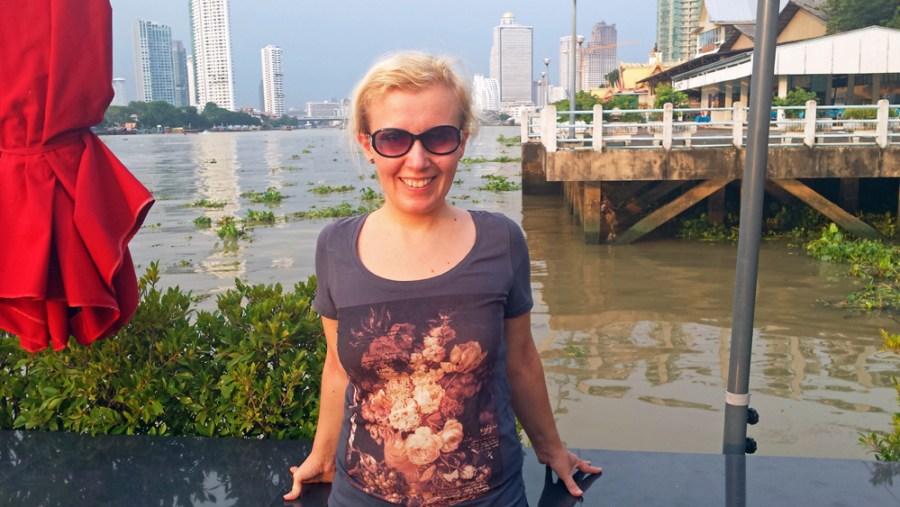 Menam Chao Phraya river Bangkok Thailand