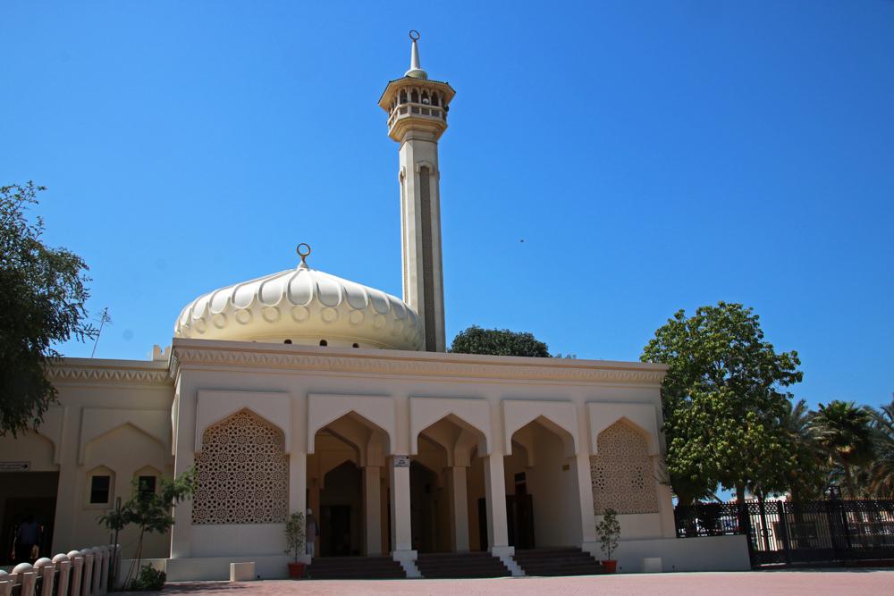 Diwan Mosque Al Bastakiya Al Fahidi Dubai United Arab Emirates