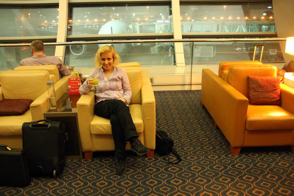 Business Class Lounge Dubai International Airport