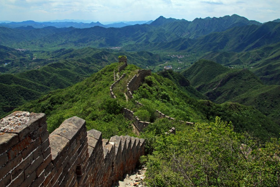 Travel Blogger Review 2016 - Great Wall Spur hike