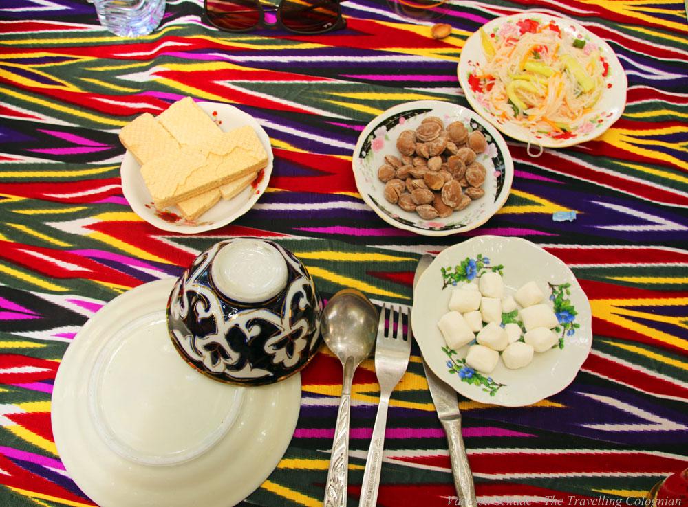 Nurata-Kysylkum-Uzbekistan-Restaurant-Nur-Starters