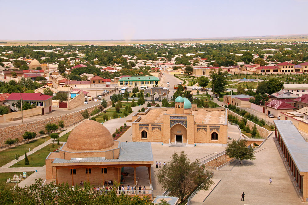 Nurata – eine Oasenstadt in der Wüste Kysylkum in Usbekistan