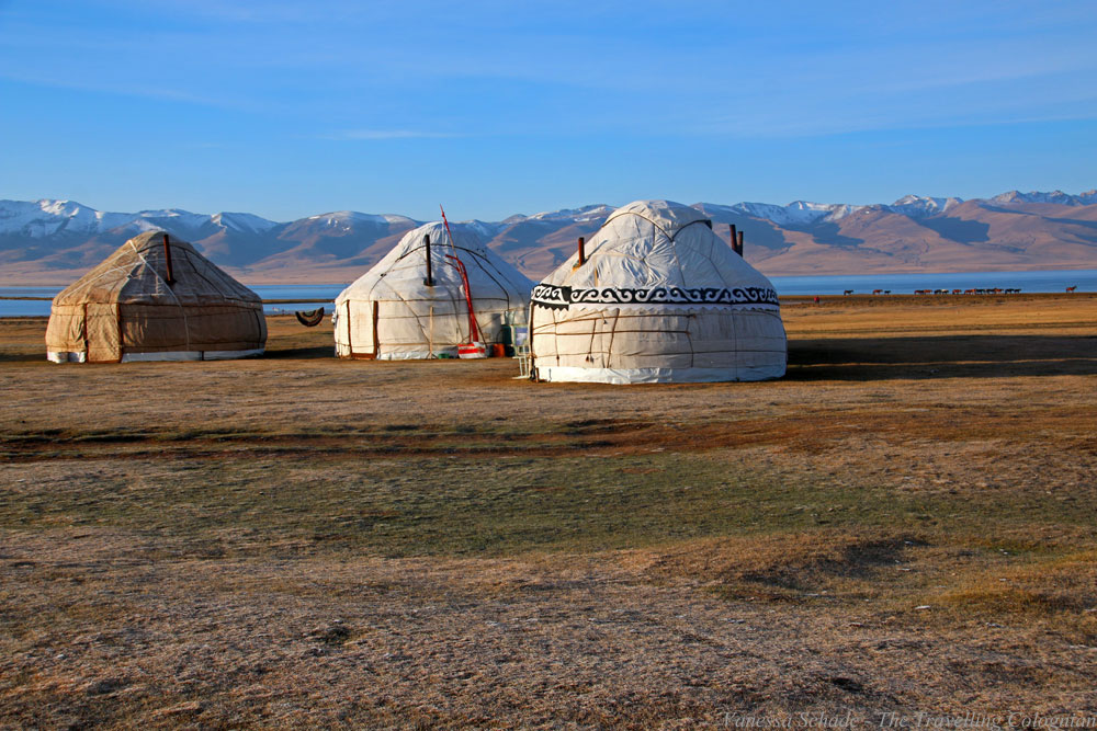 Song Kul Lake Kyrgyzstan Central Asia ASIA