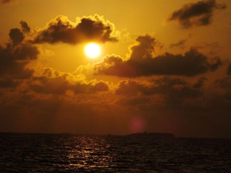 Sunset Cruise South Ari Atoll Maldives South Asia ASIA