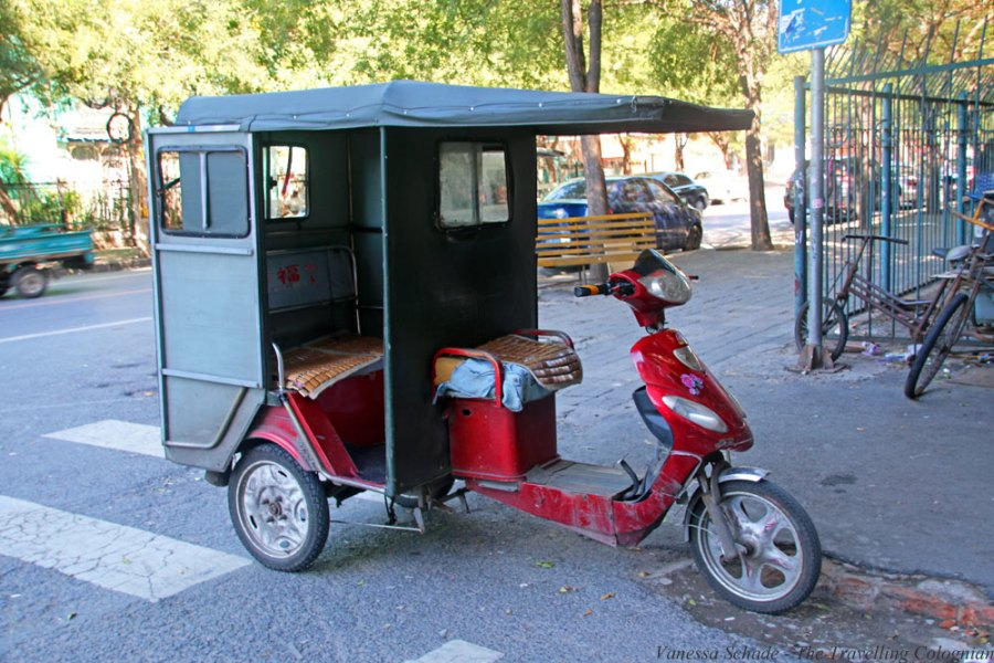 Chinese Rickshaw Beijing China East Asia ASIA