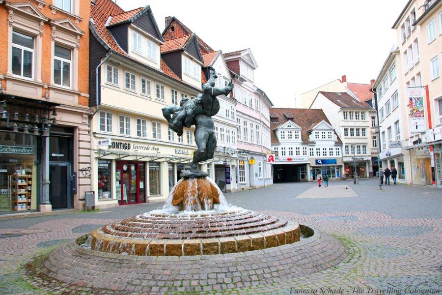 Ringerbrunnen Braunschweig Niedersachsen Deutschland EUROPA