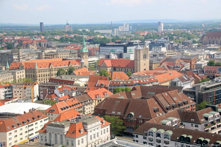 Braunschweig von der Kirche St. Andreas Braunschweig Niedersachsen Deutschland EUROPA