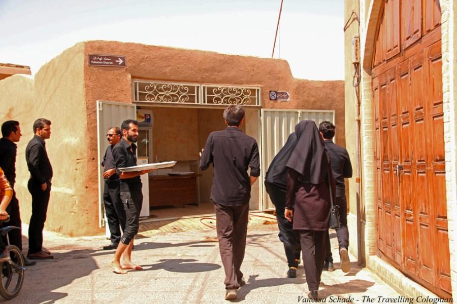 Iranische Gastfreundschaft Altstadt Yazd Iran NAHER OSTEN