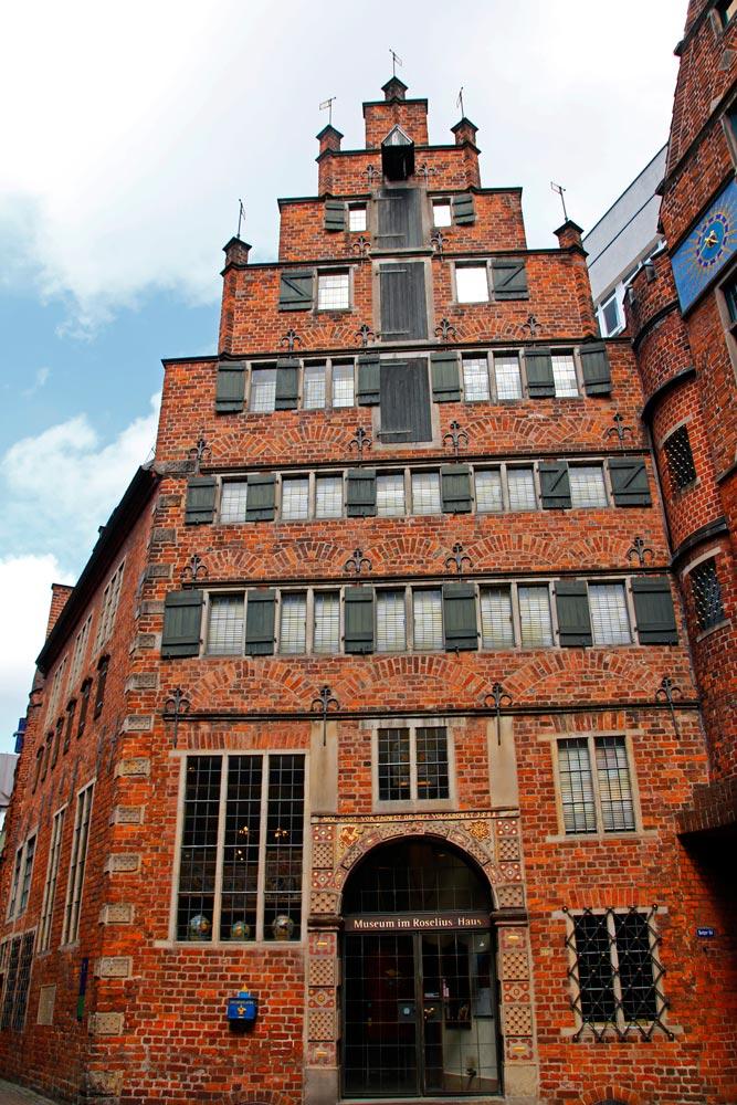 Das Roselius-Haus in Bremen ist im Renaissance-Stil erbaut und beherbergt das gleichnamige Museum