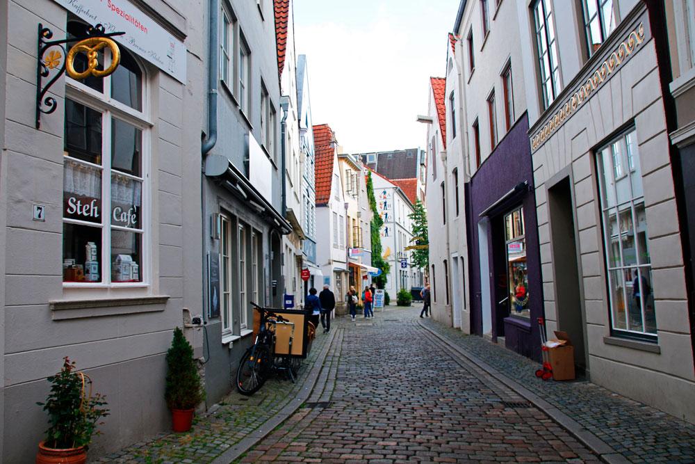 Das Schnoorviertel ist das älteste Stadtviertel in Bremen und eine der wichtigsten Sehenswürdigkeiten