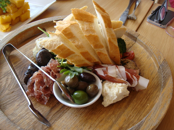 Platter at Chandon in the Yarra Valley
