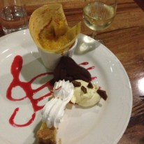 Fillaudeau's in the Swan Valley, dessert platter