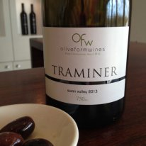 Olive Farm Wines swan valley traminer 2013