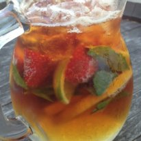 Pimms jug cocktail Rose and Crown Hotel Guildford Perth Travelling Corkscrew