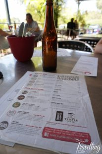 Mash Brewing drinks menu Swan Valley Perth