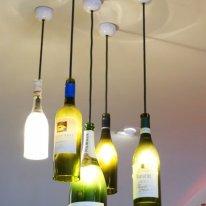 Muster Margaret River wine bottle lights