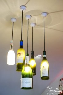 Muster Margaret River wine bottle lights
