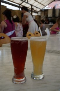 Coconut Ice Cider & Cherry Apple Cider at Ironbark Brewery, Swan Valley
