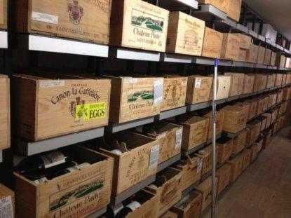 Steve's Fine Wine cellar, Perth