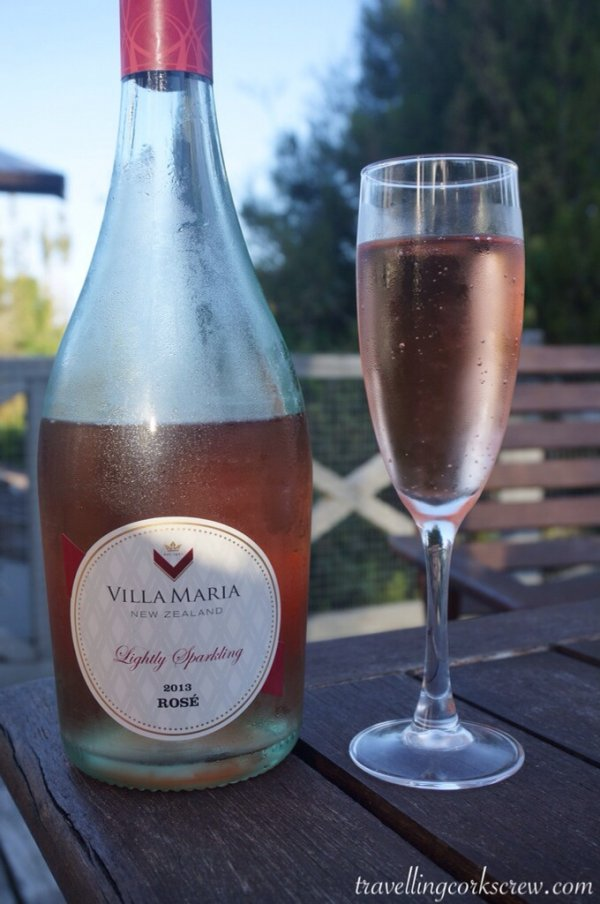 Villa Maria Estate Private Bin Lightly Sparkling Rose from the East Coast of New Zealand