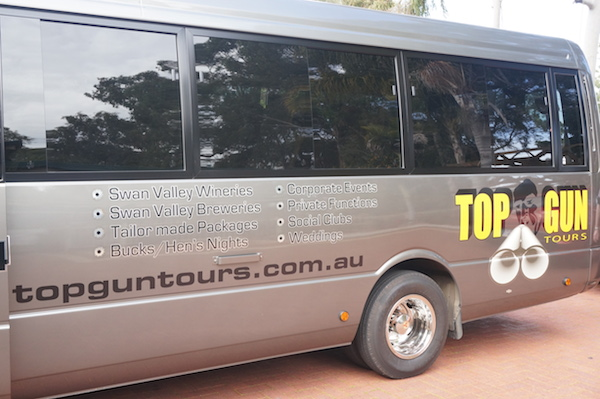 Top Gun Tour Bus Swan Valley