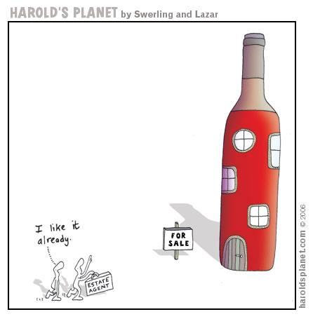 Harolds Planet Wine Bottle House