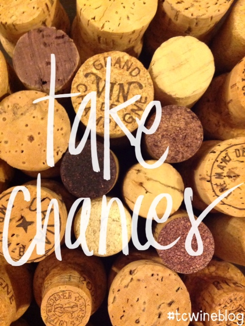 Take Chances on New Wines #tcwineblog