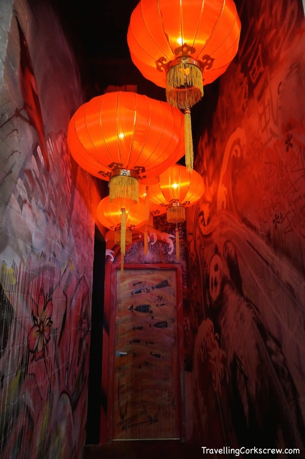 Ria Malay Kitchen lanterns