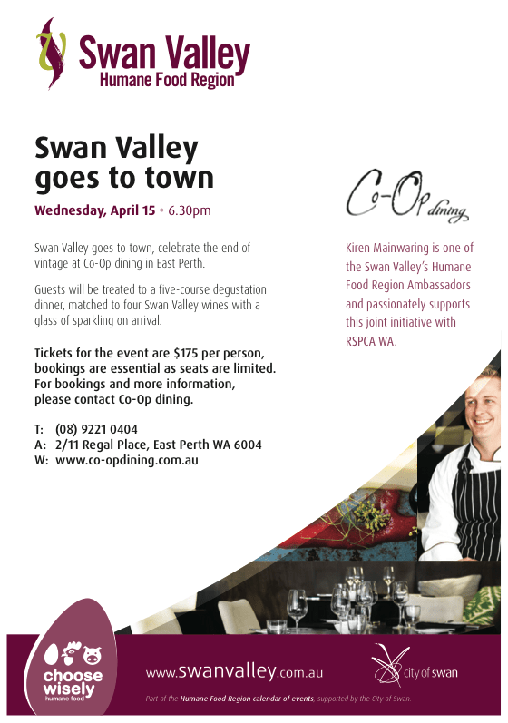 Swan Valley Goes To Town Flyer