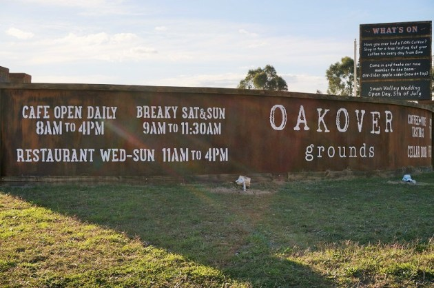 Welcome to Oakover Grounds in the Swan Valley