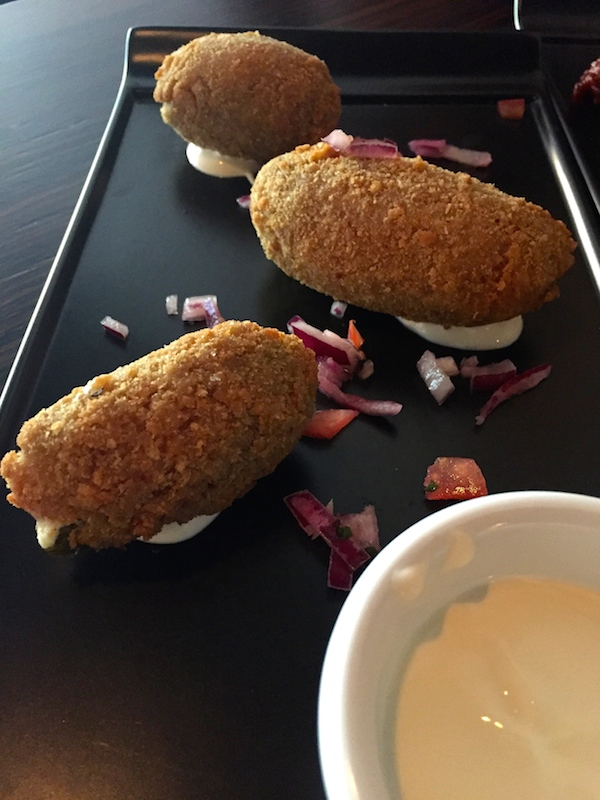 Jalapeno Poppers at Decanter Bar Vic Park