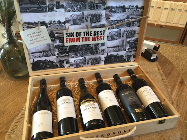 Six of the best from the west - Killerby Cellar Store Margaret River