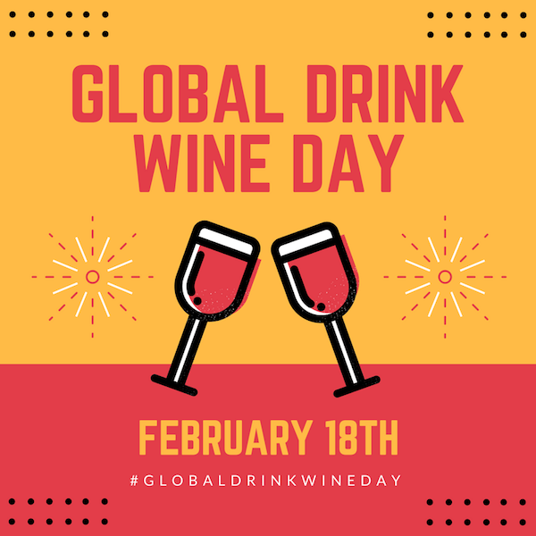 FOR IMMEDIATE RELEASE: Drink Wine Day - Feb 18th